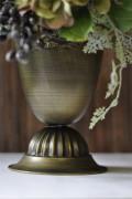 ブリキ花器